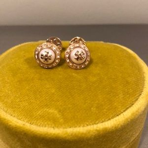 Classic Tory Burch Pearl Earrings